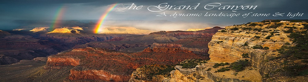 Rainbow at the Grand Canyon.